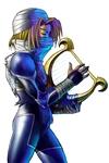 Sheik jouant de la lyre