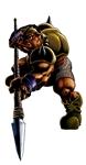 Moblin armé d'une lance