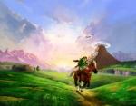 Artwork de Ocarina of Time