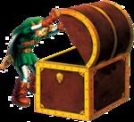Link ouvrant un coffre