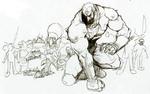 Ganondorf et des ennemis