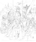 Illustration avec les différents protagonistes
