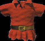 Tunique rouge