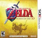Boîtier américaine d'Ocarina of Time sur Nintendo 3DS