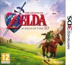 Boîtier européen d'Ocarina of Time sur Nintendo 3DS