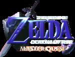 Logo d'Ocarina of Time Master Quest