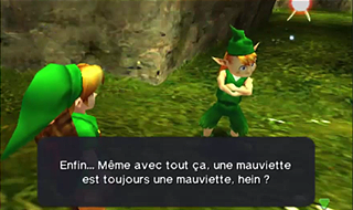 Screenshot de Ocarina of Time - La Forêt Kokiri