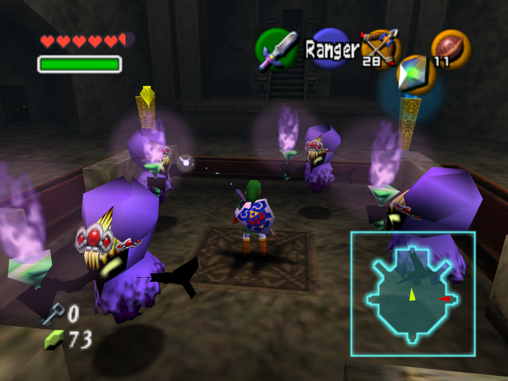 Screenshot d'Ocarina of Time