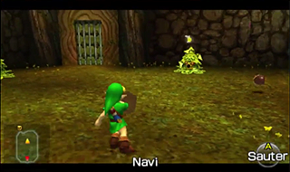 Screenshot de Ocarina of Time - L'Arbre Mojo