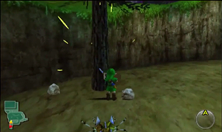 Screenshot de Ocarina of Time -  Le Château d'Hyrule