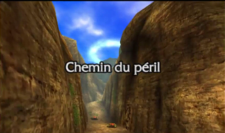Screenshot de Ocarina of Time 3D - Le Mont du Péril - Le Mont du Péril