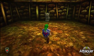 Screenshot de Ocarina of Time 3D - La Caverne Dodongo - Atteindre le Boss