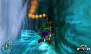 Screenshot de Ocarina of Time 3D - Le Domaine Zora - La Princesse Ruto