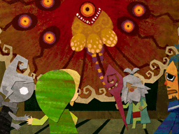 Scène de fin (Artwork - Scènes de fin - Phantom Hourglass)