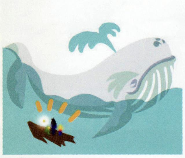 Rencontre avec le Roi des mers (Artwork - Concepts Arts de lieux - Phantom Hourglass)