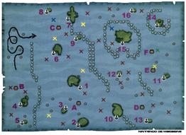 La carte maritime