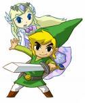 Link et Zelda spectrale