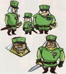 Des soldats