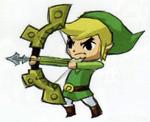 Link tirant à l'arc