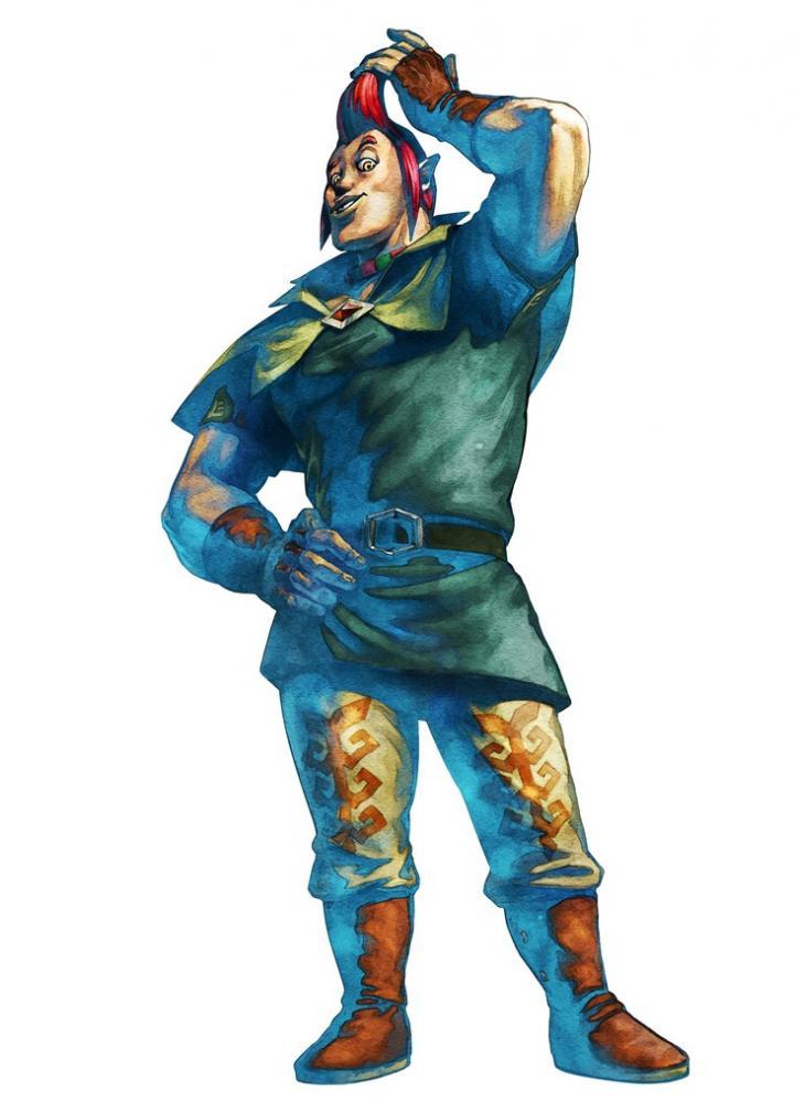 Hergo (Artwork - Habitants de Célesbourg - Skyward Sword)