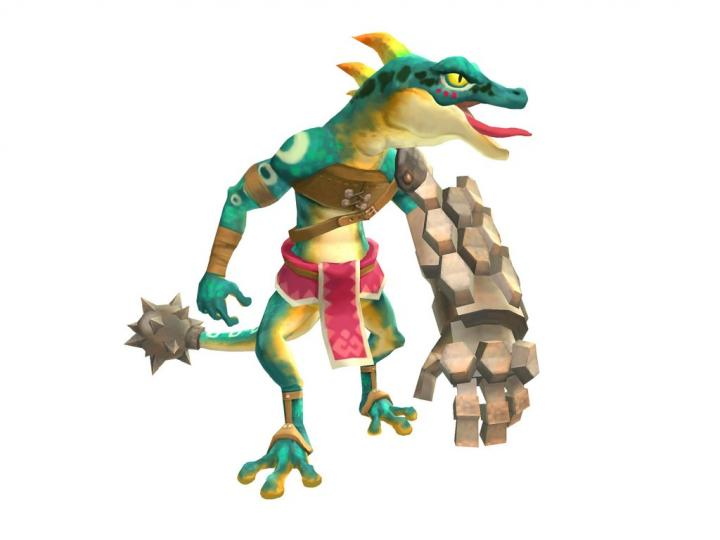 Lizalfos (Artwork - Ennemis - Skyward Sword)