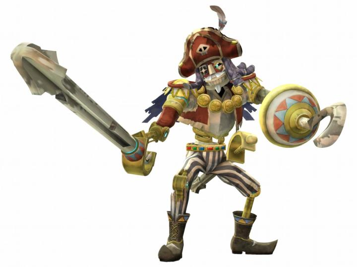 Capitaine Zigouille (Artwork - Mini-boss et boss - Skyward Sword)