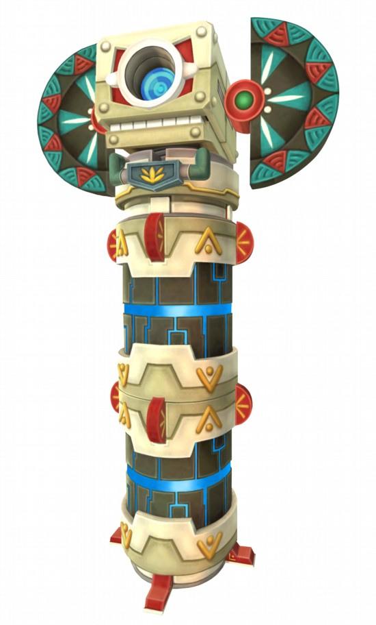 Une Sentinelle (Artwork - Ennemis - Skyward Sword)