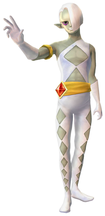 Ghirahim (Artwork - Ghirahim - Skyward Sword)