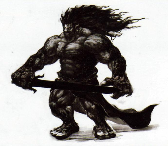 L'avatar du néant (Artwork - Le Banni et l'Avatar du Néant - Skyward Sword)
