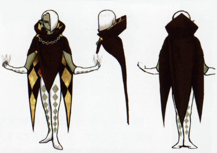 Ghirahim (Artwork - Ghirahim - Skyward Sword)