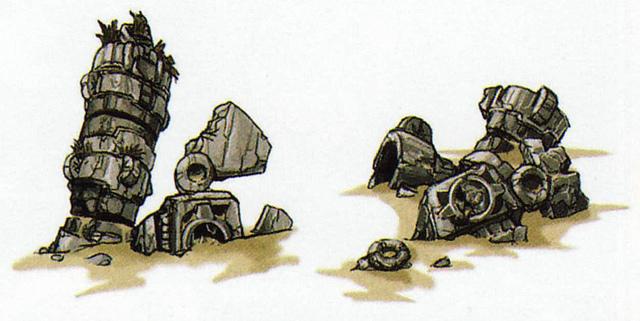 Ancienne sentinelle (Artwork - Ennemis - Skyward Sword)
