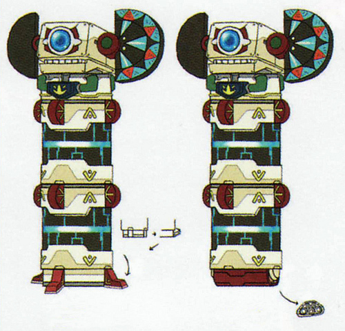 Sentinelle (Artwork - Ennemis - Skyward Sword)