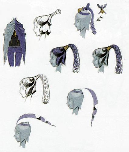 Concept art de Fay (Artwork - Fay - Skyward Sword)