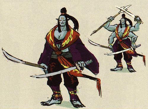 Concept art non utilisé de Ghirahim (Artwork - Ghirahim - Skyward Sword)