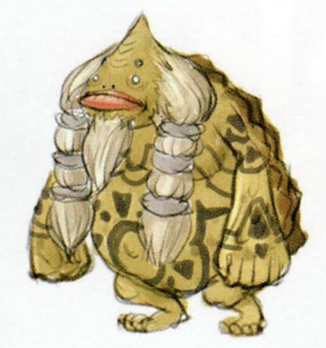 Goron (Artwork - Peuple d'Hyrule - Skyward Sword)