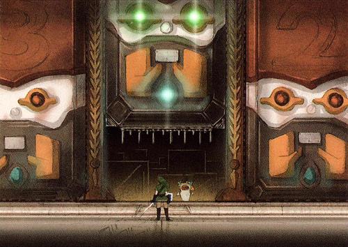 Raffinerie de Lanelle (Artwork - Concept Arts d'Hyrule - Skyward Sword)