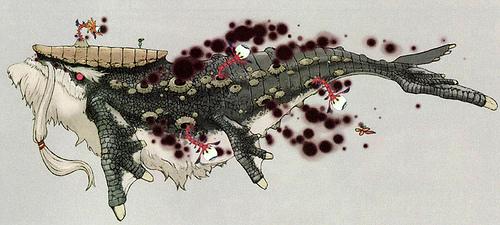 Narisha possédé par Palaparas (Artwork - Dragons - Skyward Sword)