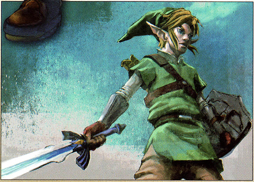 Link (Artwork - Link - Skyward Sword)