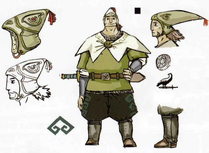 Version finale d'Aquilus (Artwork - Habitants de Célesbourg - Skyward Sword)