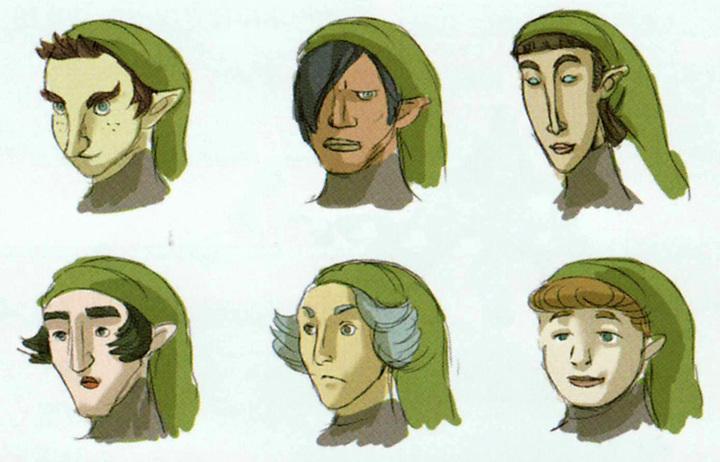 Version finale de Kiko (Artwork - Habitants de Célesbourg - Skyward Sword)