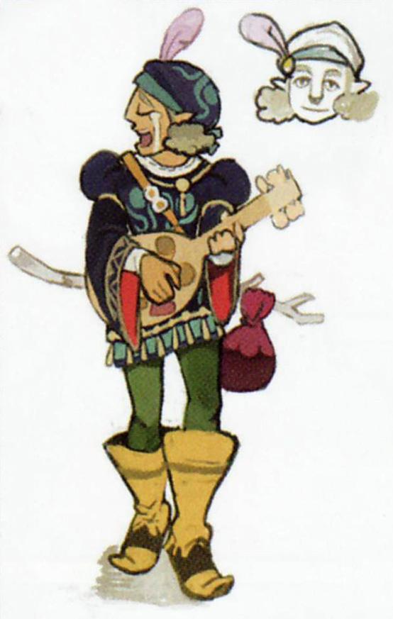 Concept art de Loisel (Artwork - Habitants de Célesbourg - Skyward Sword)