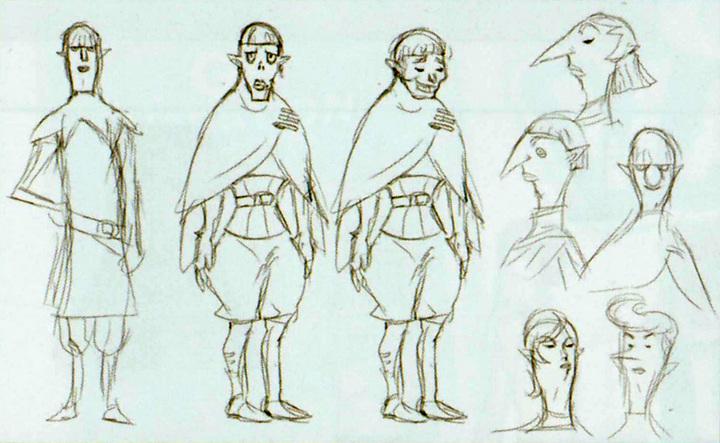 Concept art de Latruche (Artwork - Habitants de Célesbourg - Skyward Sword)