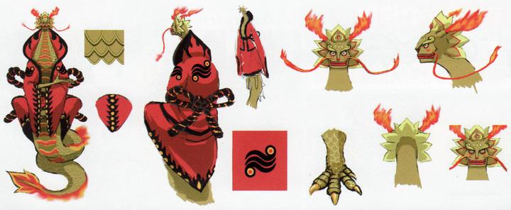 Ordinn (Artwork - Dragons - Skyward Sword)