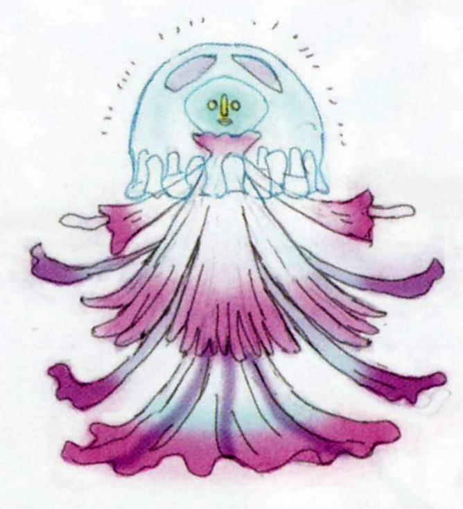 Concept art non utilisé de Paraduse (Artwork - Peuple d'Hyrule - Skyward Sword)