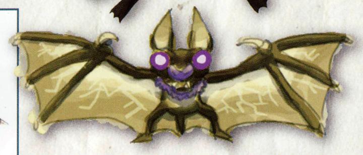Chauve-souris électrique (Artwork - Ennemis - Skyward Sword)