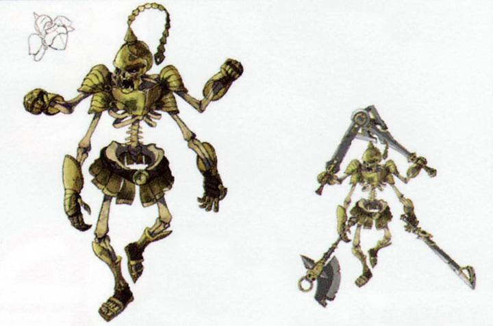 Maître Stalfos (Artwork - Mini-boss et boss - Skyward Sword)