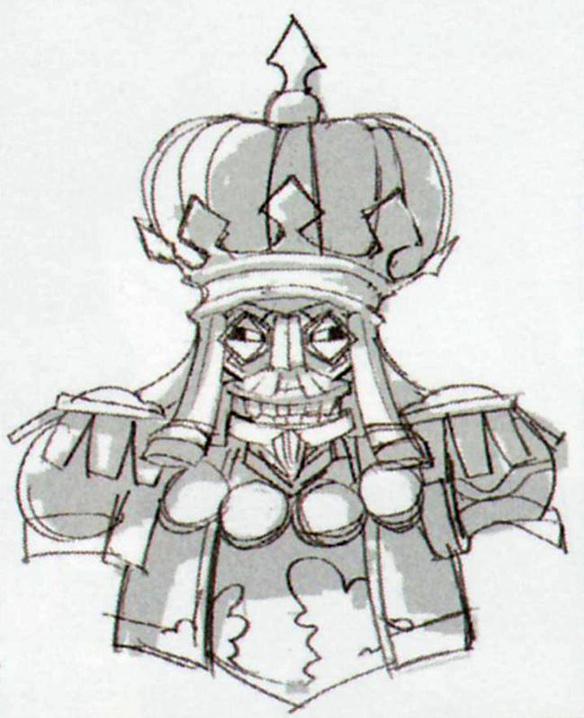 Concept art de Capitaine Trucide (Artwork - Mini-boss et boss - Skyward Sword)