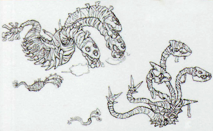 Concept art de Stalfydre (Artwork - Ennemis - Skyward Sword)