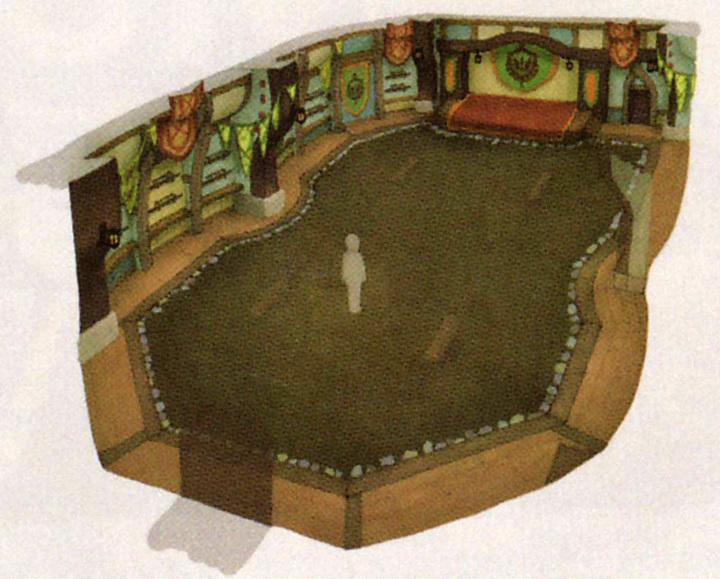 École de Chevalerie (Artwork - Concept Arts du Ciel et de Célesbourg - Skyward Sword)