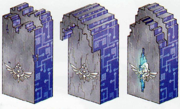 Portail du temps (Artwork - Concept Arts d'Hyrule - Skyward Sword)